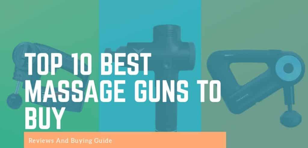 The Top 10 Best Massage Guns 2020 Reviews And Comparisons - reviewedbest.com