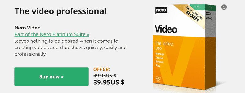 Nero Video Editor