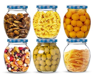 Star Work Matka Glass Spice Jars