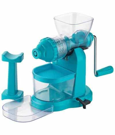 Capital Kitchenware Plastic Classic Fruits & Vegetable Juicer with Steel Handle