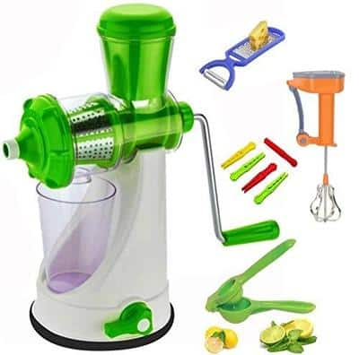 Redfam Combo of Best Quality Hand Press Manual Juicer Machine for Juicy Fruits